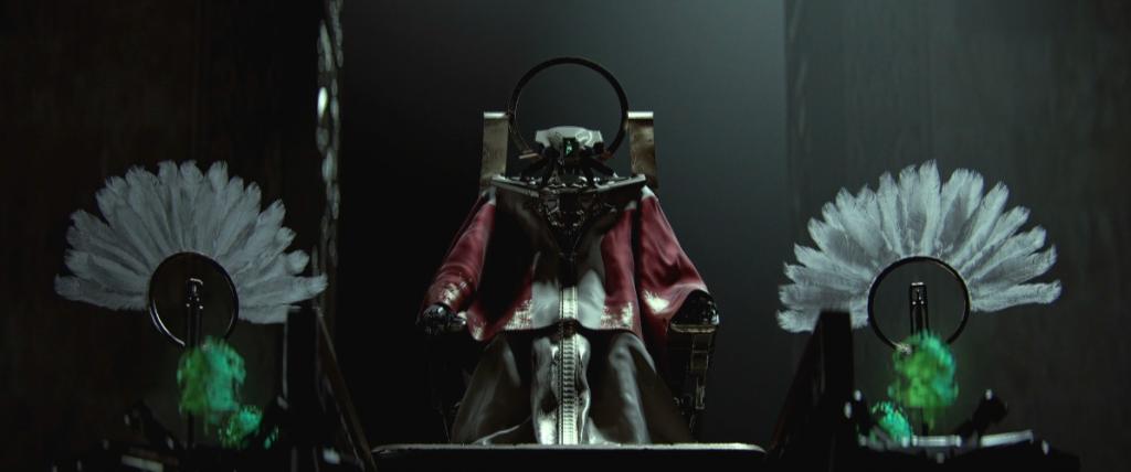 'Cyborg' ruler in 'A New Hope'