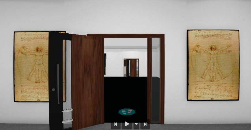 Dualisms artsteps Exhibition