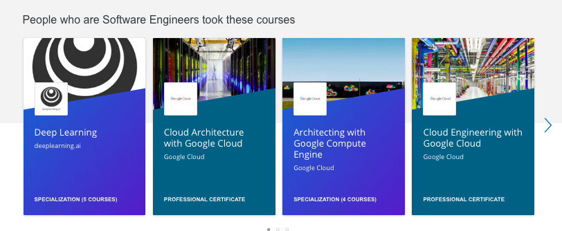 Coursera recommendations