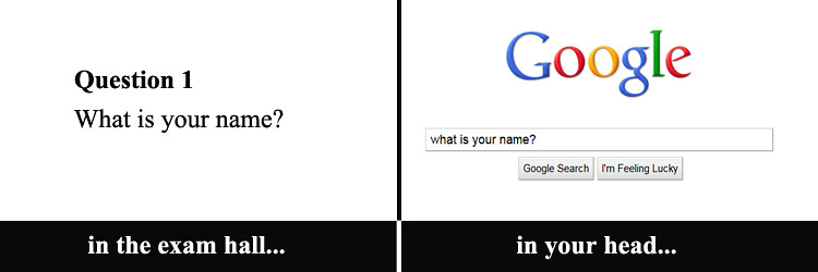 """google exam"" by Sean MacEntee is licensed under CC BY 2.0"