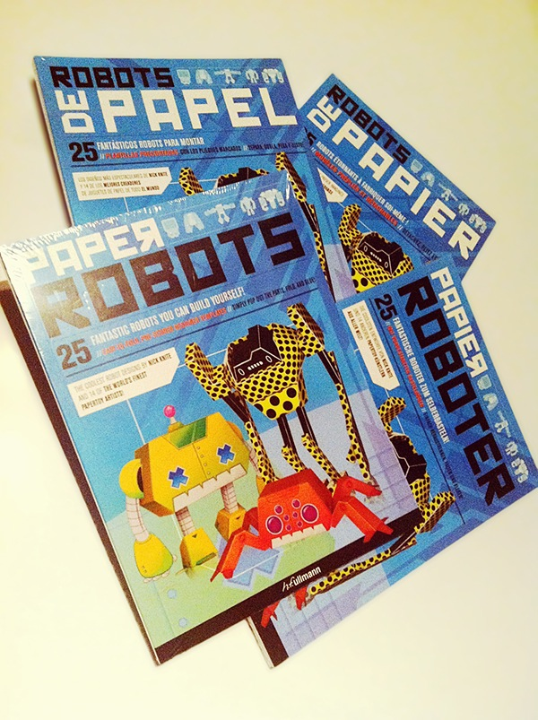 """""""Paper Robots Book"""" by Nick Knite is licensed under CC BY-NC 4.0"""